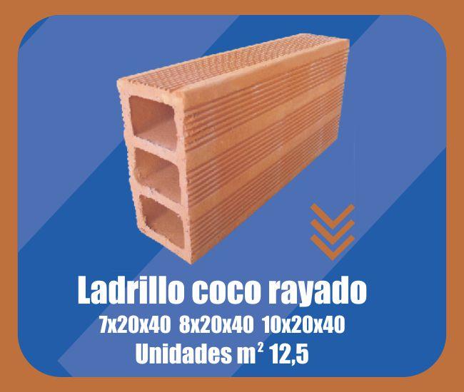 Ladrillo Coco Rayado