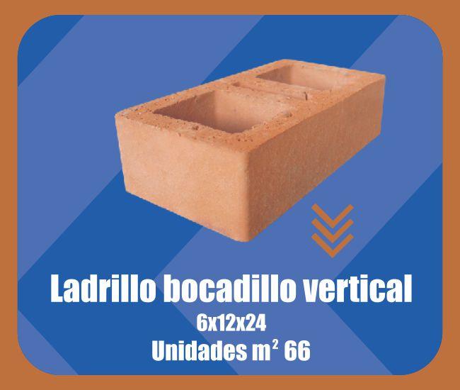 Ladrillo Bocadillo Vertical