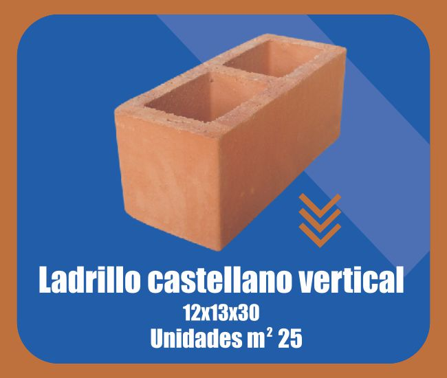 Ladrillo Castellano Vertical