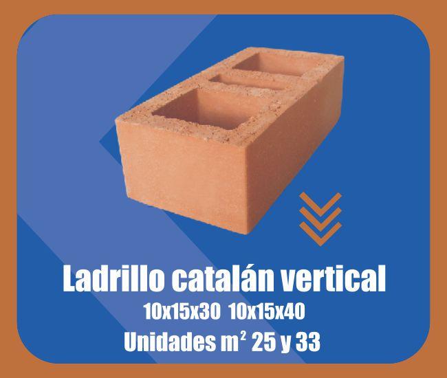 Ladrillo Catalán Vertical