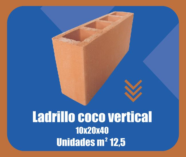 Ladrillo Coco Vertical