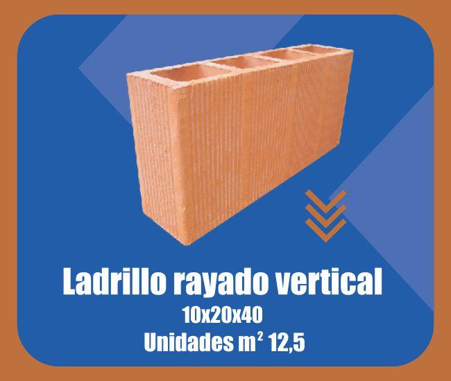 Ladrillo Rayado Vertical