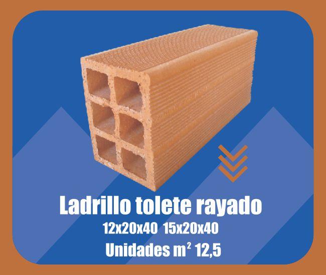 Ladrillo Tolete Rayado